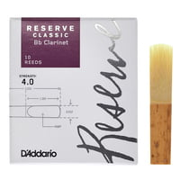 DAddario Woodwinds : Reserve Clarinet Classic 4,0