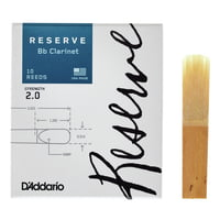 DAddario Woodwinds : Reserve Clarinet 2,0