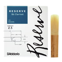 DAddario Woodwinds : Reserve Clarinet 2,5