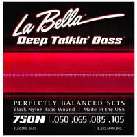 La Bella : 750N Black Nylon L
