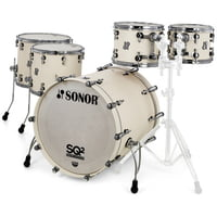 Sonor : SQ2 Rock Set Beech Creme White