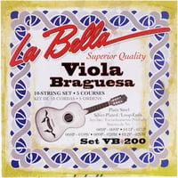 La Bella : VB200 Viola Braguesa Strings