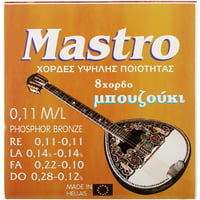 Mastro : Bouzouki 8 Strings 011 PB