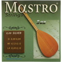 Mastro : Turkish Saz 6 Strings 009 SP