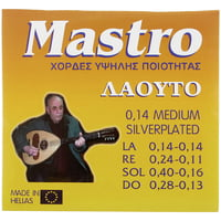 Mastro : Greek Laouto 8 Strings SP