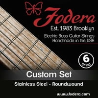 Fodera : 6-String Set Custom Steel