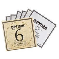 Optima : No.6 Gold Strings Carbon High