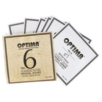 Optima : No.6 Silver Strings Carbon Med