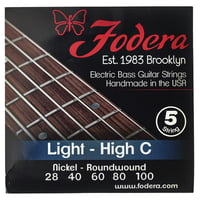 Fodera : 5-String High C Set Light N
