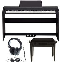 Casio : PX-160 BK Privia Deluxe Bundle