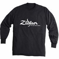 Zildjian : Black Long Sleeve with Logo L
