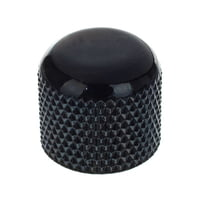 Harley Benton : Parts Dome Knobs Plastic Black