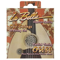 La Bella : OU80 Oud Turkish Tuning