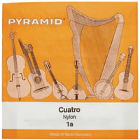 Pyramid : Cuatro Nylon Strings d-f-a-c