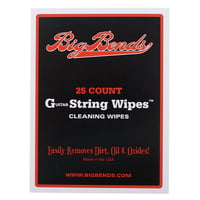 Big Bends : String Cleaning Wipes 25