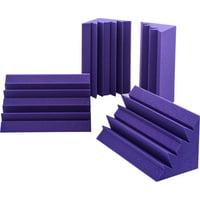 Auralex Acoustics : Lenrd Bass Traps Purple