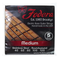 Fodera : 5-String Set Medium SS