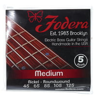 Fodera : 5-String Set Medium NI