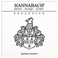 Hannabach : Exclusive Medium Tension