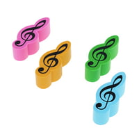 agifty : Eraser Violin Clef 4er Set