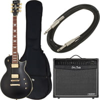 Harley Benton : SC-Custom Vintage Black Bundle