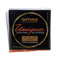 Optima : 2409B Bass Gold Strings