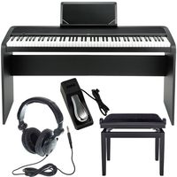 Korg : B1 Black Stand Bundle