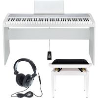 Korg : B1 White Stand Bundle