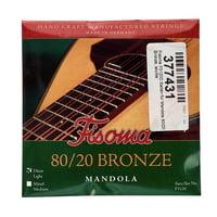 Fisoma : F3120D Mandola Strings 80/20