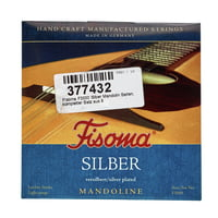 Fisoma : F3000 Silver Mandolin Strings