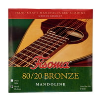 Fisoma : F3020M Mandolin Strings 80/20
