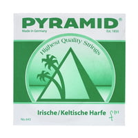 Pyramid : Irish / Celtic Harp String f3