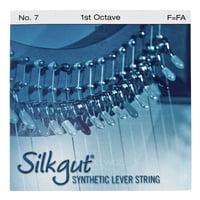 Bow Brand : Silkgut 1st F Harp String No.7