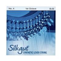 Bow Brand : Silkgut 1st B Harp String No.4