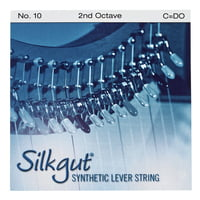Bow Brand : Silkgut 2nd C Harp Str. No.10