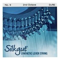 Bow Brand : Silkgut 2nd D Harp String No.9