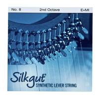 Bow Brand : Silkgut 2nd E Harp String No.8
