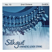 Bow Brand : Silkgut 2nd G Harp Str. No.13