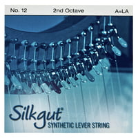 Bow Brand : Silkgut 2nd A Harp Str. No.12