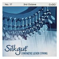 Bow Brand : Silkgut 3rd C Harp Str. No.17