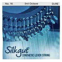 Bow Brand : Silkgut 3rd D Harp Str. No.16