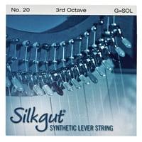 Bow Brand : Silkgut 3rd G Harp Str. No.20
