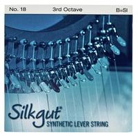 Bow Brand : Silkgut 3rd B Harp Str. No.18