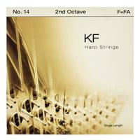Bow Brand : KF 2nd F Harp String No.14
