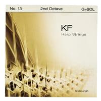 Bow Brand : KF 2nd G Harp String No.13