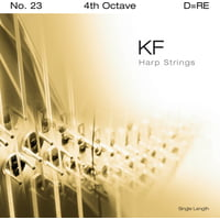 Bow Brand : KF 4th D Harp String No.23