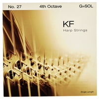 Bow Brand : KF 4th G Harp String No.27