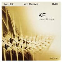 Bow Brand : KF 4th B Harp String No.25