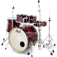 Pearl : Decade Maple Studio Red Burst