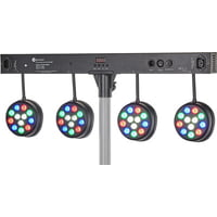 Fun Generation : LED Pot System Bar 48x1W RGBW